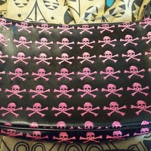 Pink and Black Torrid Clutch